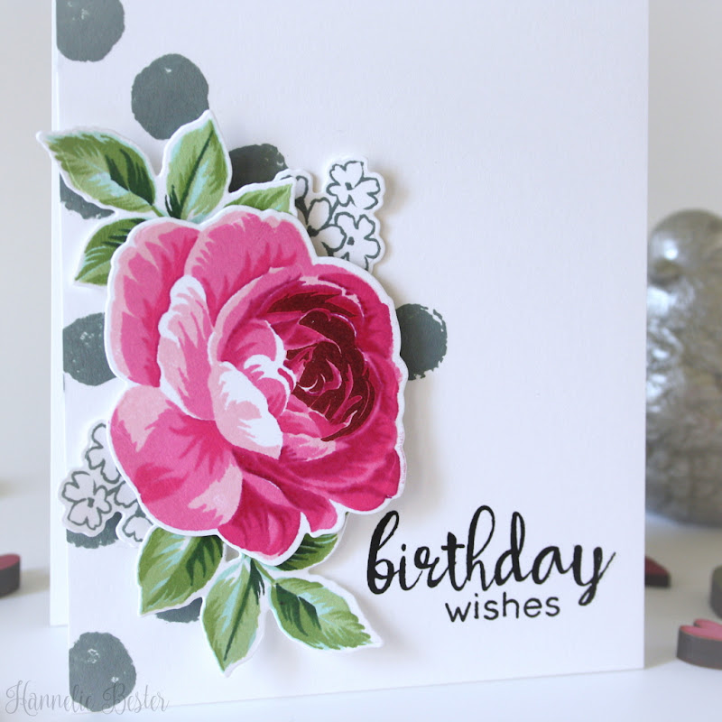 Altenew build a flower rose