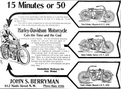 Harley-Davidson -- A motorcycle is not a luxury