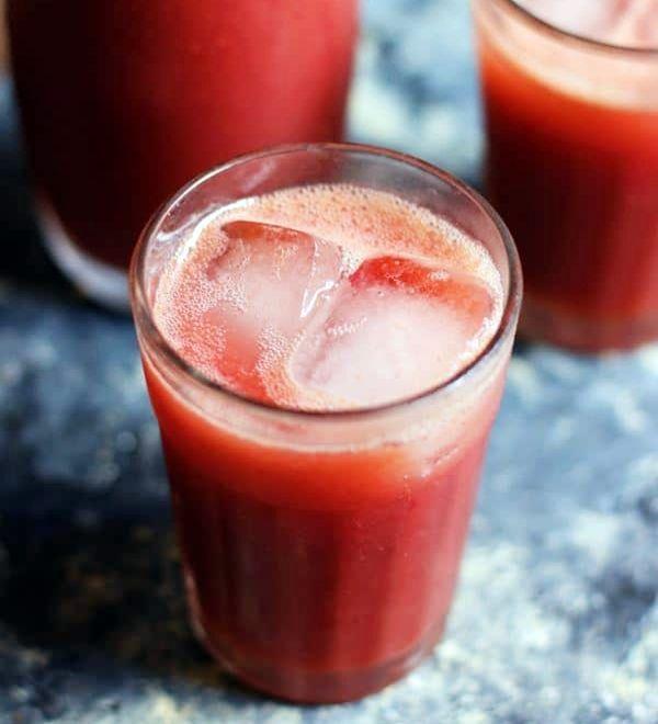 Jus Anggur Campur Tomat