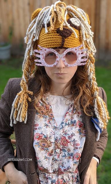 luna lovegood Gryffindor hat costume