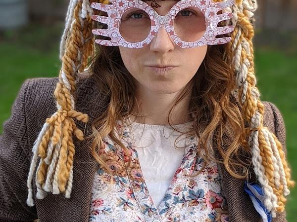 Luna Lovegood Lion Hat Costume a Harry Potter Costume