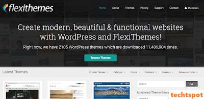 Free And Premium WordPress Themes by FlexiThemes
