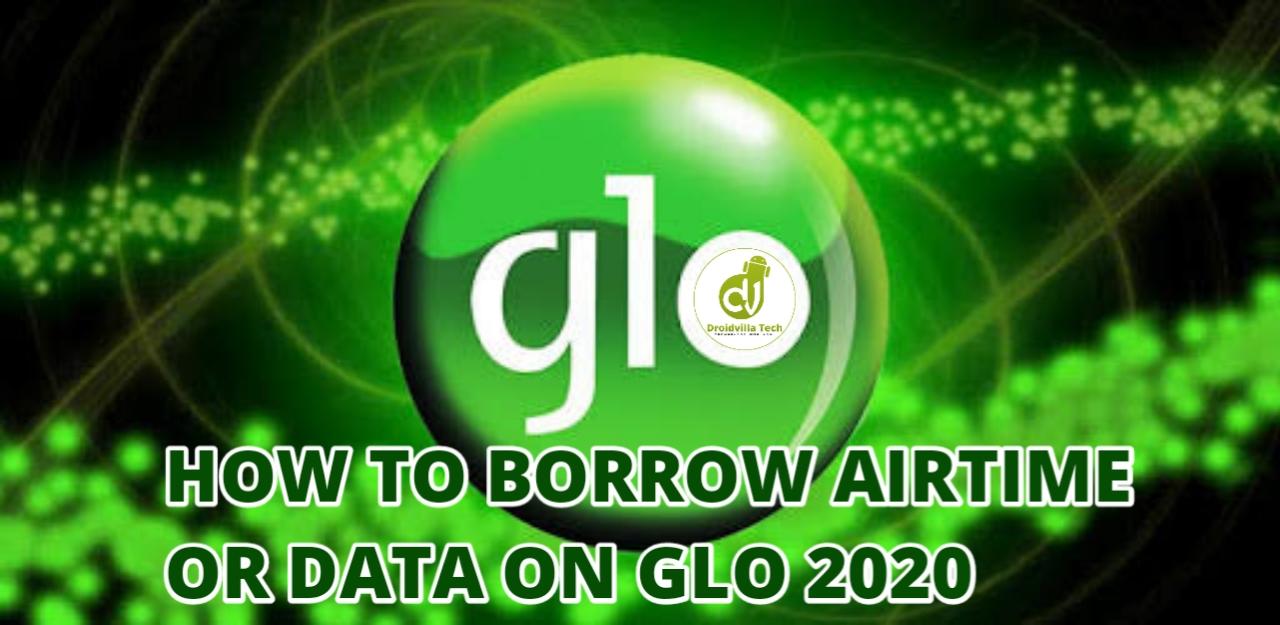 Glo borrow me credit and data