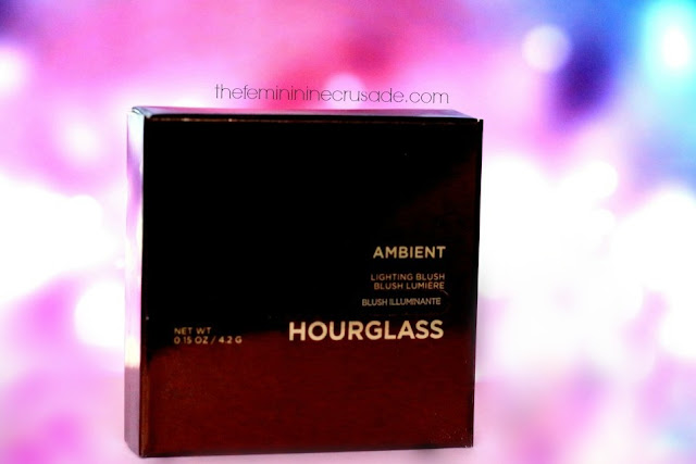 Hourglass Ambient Lighting Blush in 'Luminous Flush'