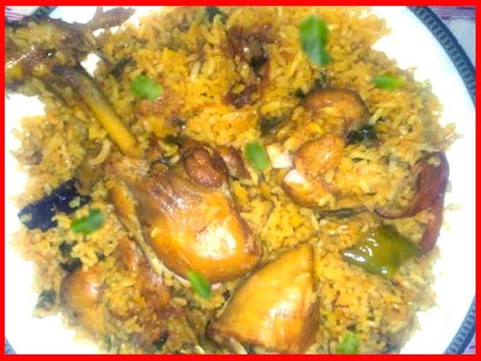 Orignal Sindhi Chicken Biryani Recipe