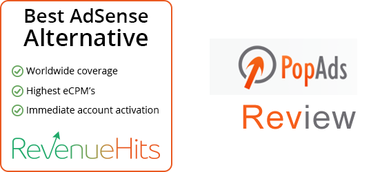 Which is most high paying rate Popads or Revenuehits 1