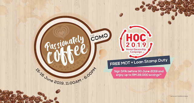 Passionately Coffee @ The COMO Bukit Jalil KL