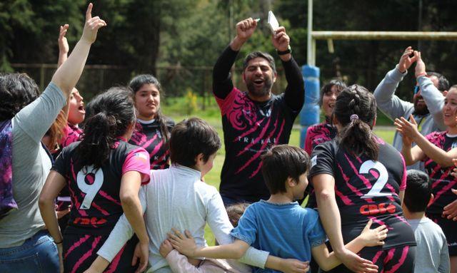 Lobas equipo femenino de rugby de osorno