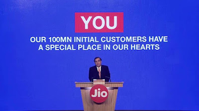 JIO loves customers