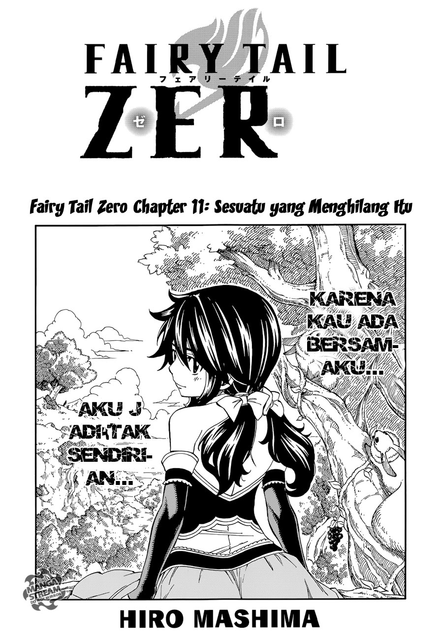 Fairy Tail Zero Chapter 11-0