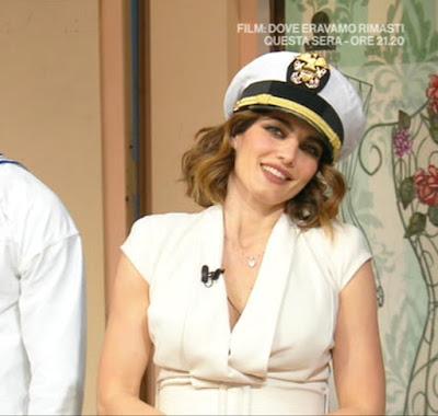 Samanta Togni cappello da marinaio i fatti vostri