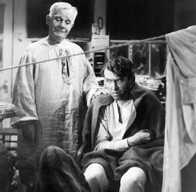 George Bailey and guardian angel
