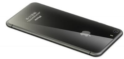 Phone 8 sẽ có mặt kính gương ở mặt sau