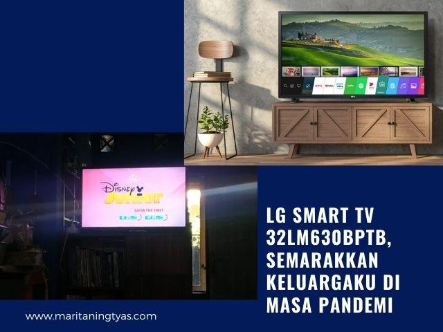 Smart TV LG 32LM630BPTB