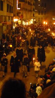 Le défilé de la compagnie 1602