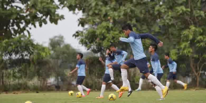 Latihan Perdana Timnas U-19