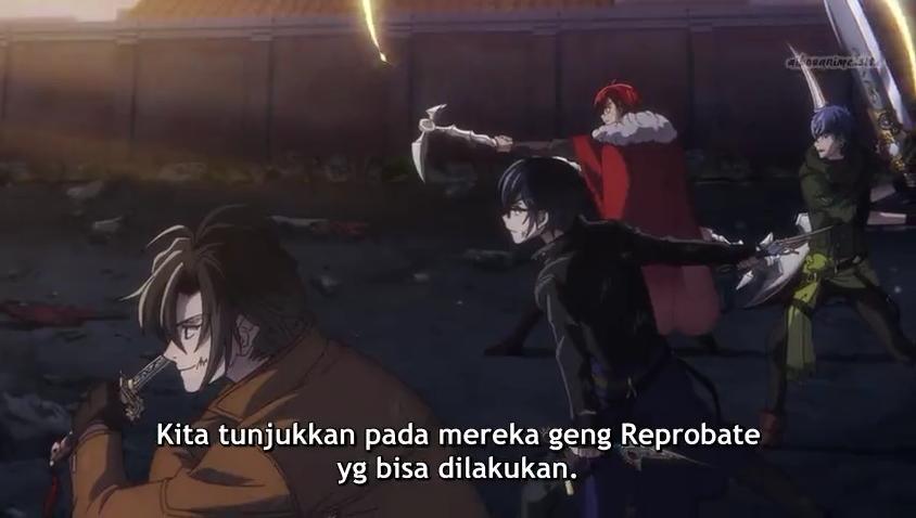 Bungou to Alchemist: Shinpan no Haguruma Episode 09 Subtitle Indonesia