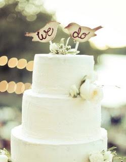 Epic Bird Wedding Cake Topper