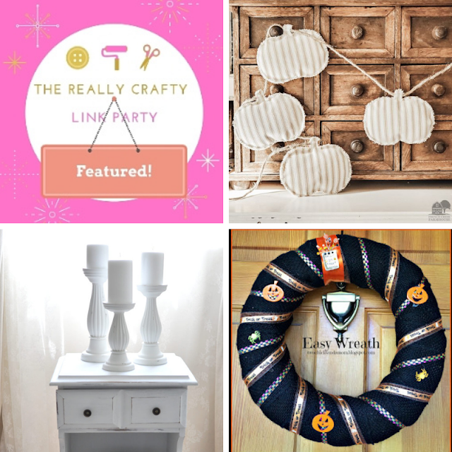 The Really Crafty Link Party #281 featured posts
