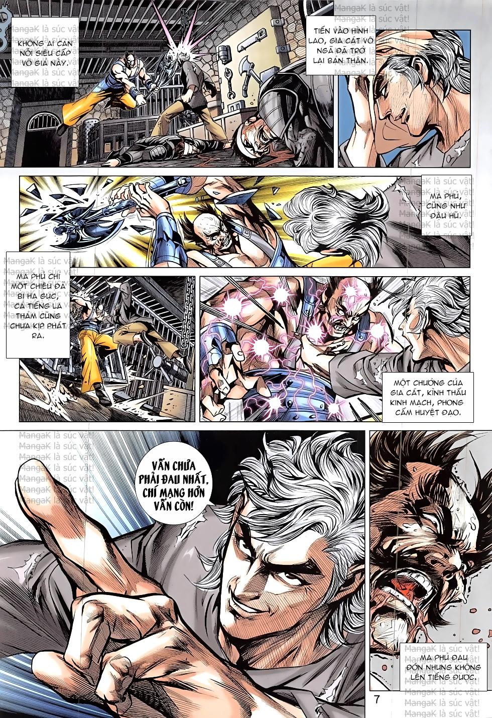 Tân Tác Long Hổ Môn Chap 824 page 7 - Truyentranhaz.net