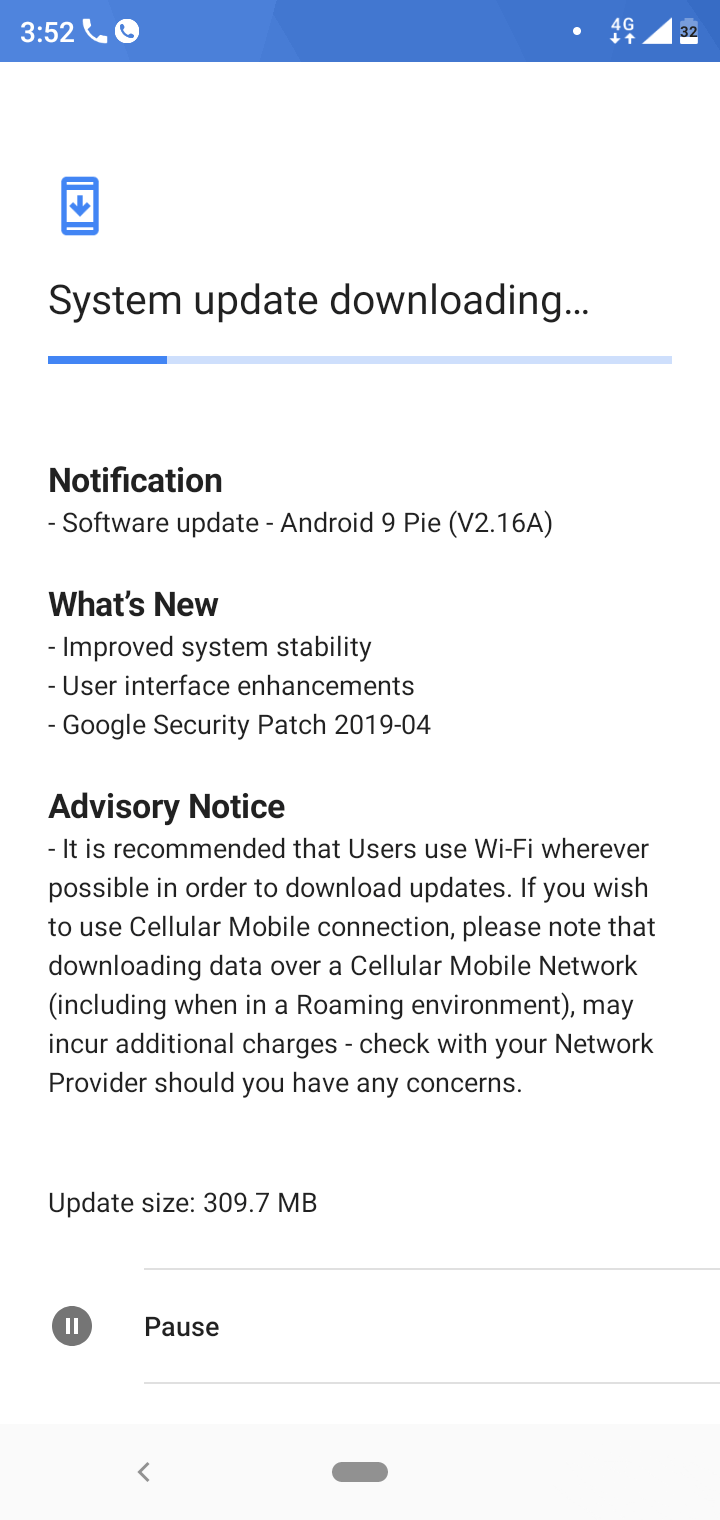 android 9 security patch april 2019