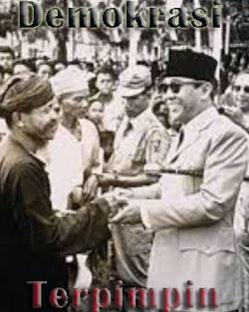 Pengertian Demokrasi Terpimpin di Indonesia