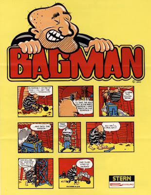 Portada videojuego Bagman