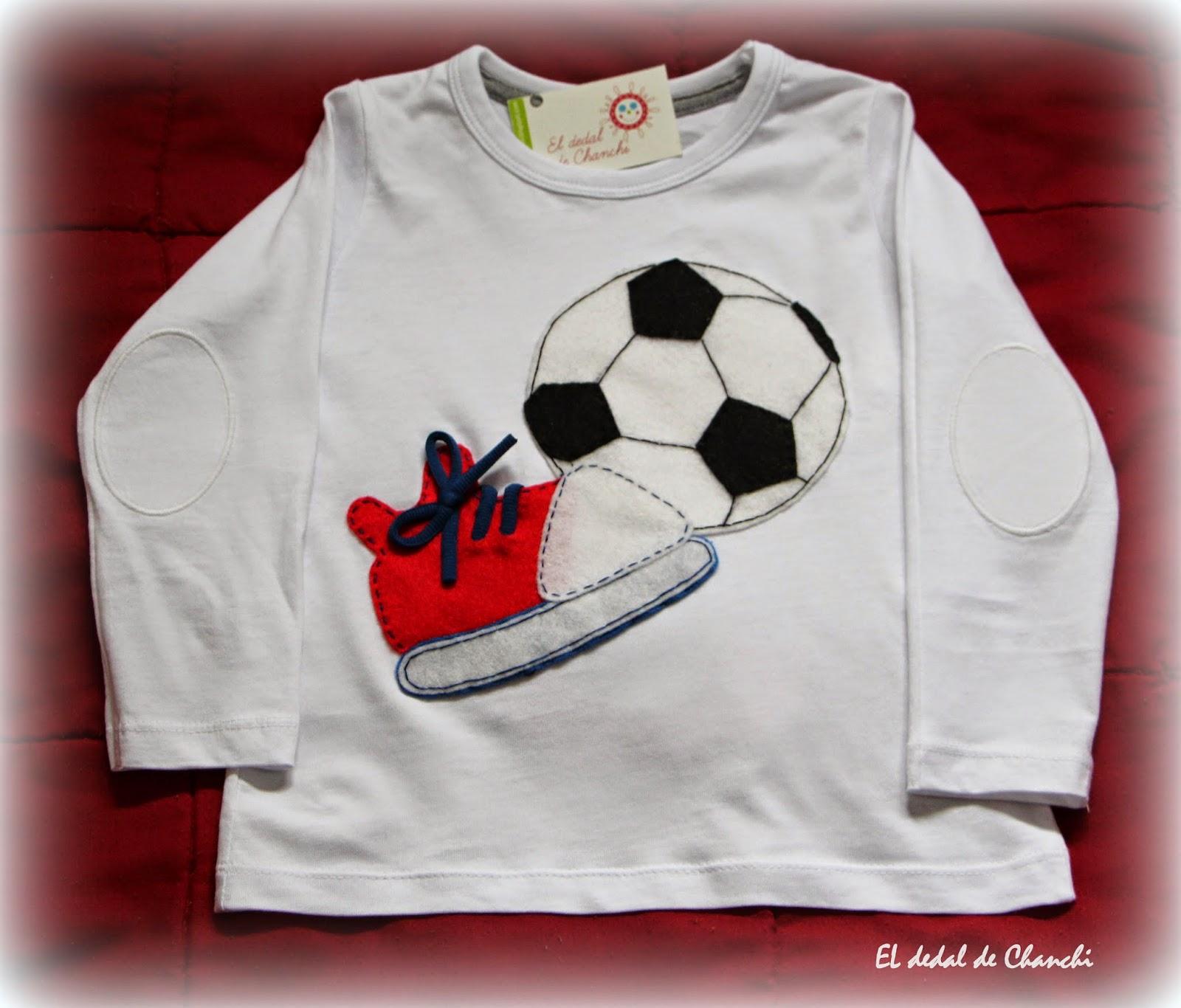 2997ac7d7627a EL DEDAL DE CHANCHI  Camisetas personalizadas de fútbol
