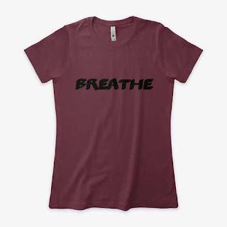 Breathe Women's Boyfriend Tee Shirt Brown