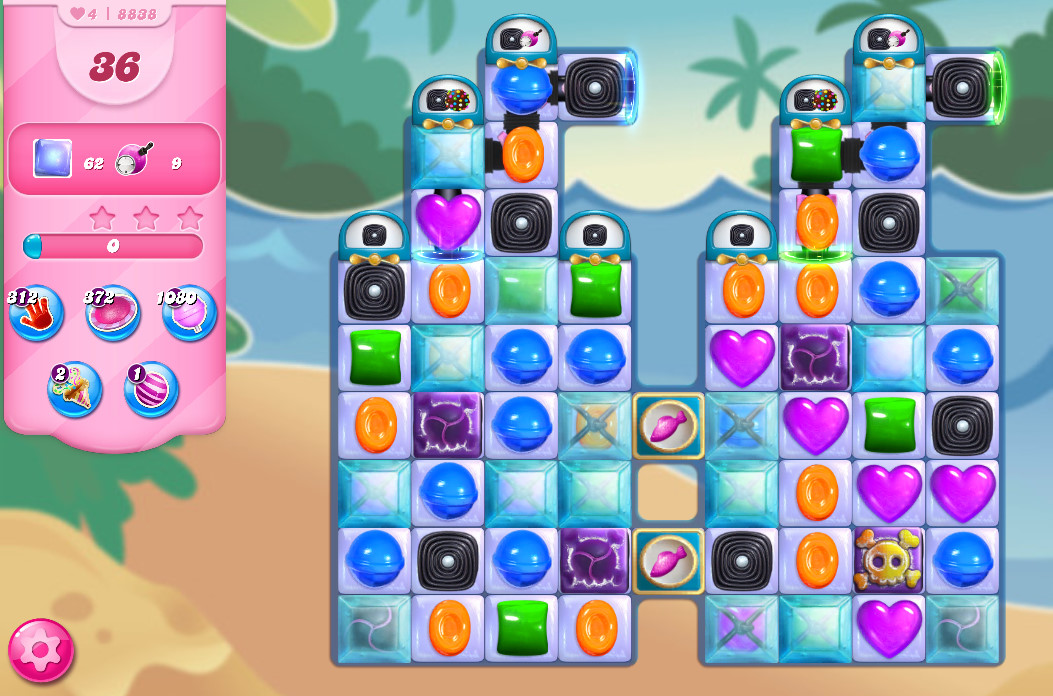 Candy Crush Saga level 8838
