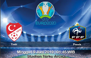 Prediksi Turki vs Prancis 9 Juni 2019