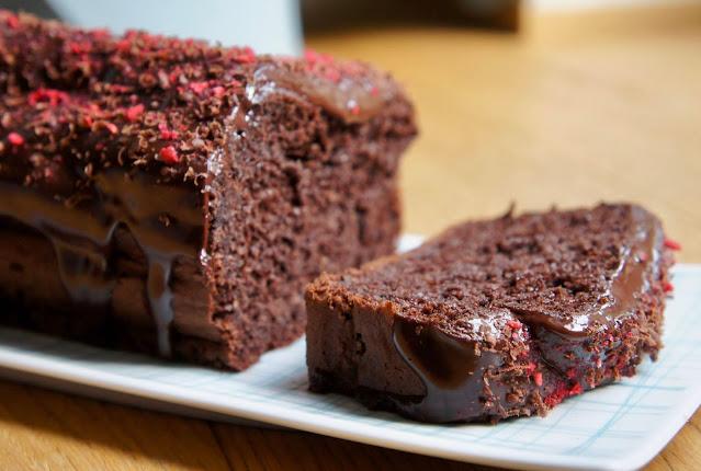 REZEPT: glutenfreier Rote-Beete-Schokokuchen