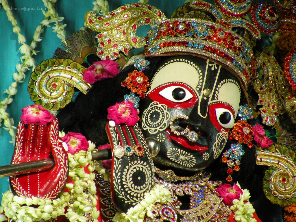 Hare Krishna: Sri Sri Radha Shyamsundar Temple, Vrindavan