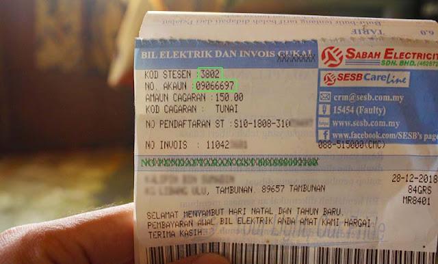 Cara Bayar Bil Elektrik SESB Secara Online Guna Cimb