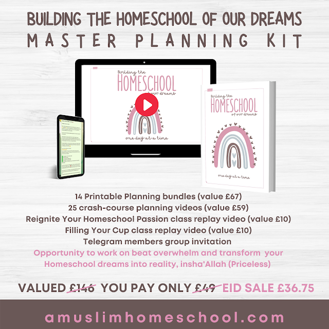Building The Homeschool Of Our Dreams Planner kit sale