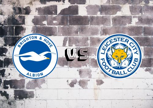Brighton & Hove Albion vs Leicester City  Resumen