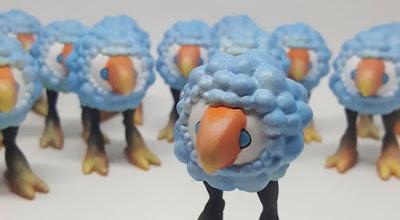 Bird Bloom Resin Figure by Kyle Kirwan