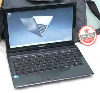 Jual Laptop Bekas Asus A42F i3