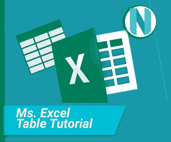Cara Membuat Tabel Microsoft Excel Nandur93