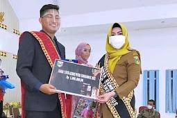 SPRI Tanggamus Apresiasi Mahasiswa asal Air Naningan Raih Juara 1 Putra Duta GenRe