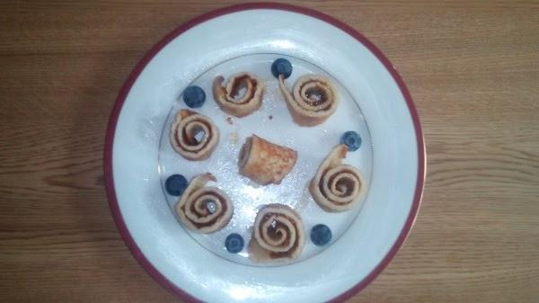 Homemade pancakes - Nutella or jam filling