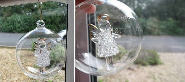 Christmas Bauble, glass bauble, keepsake gifts