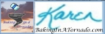 Baking In A Tornado signature/logo | www.BakingInATornado.com | #MyGraphics