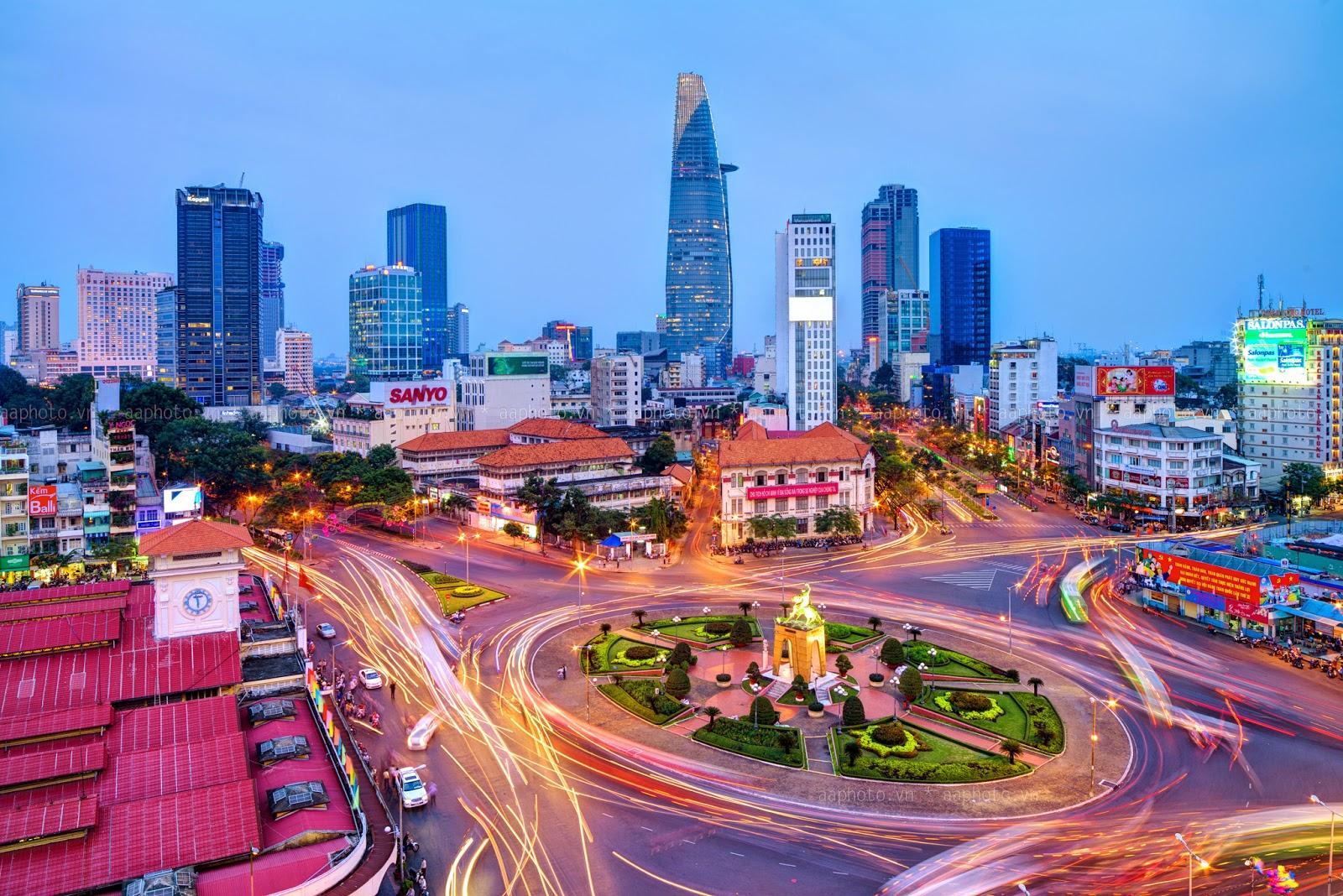 Ho Chi Minh City ongoing dynamic enchanting Vietnam