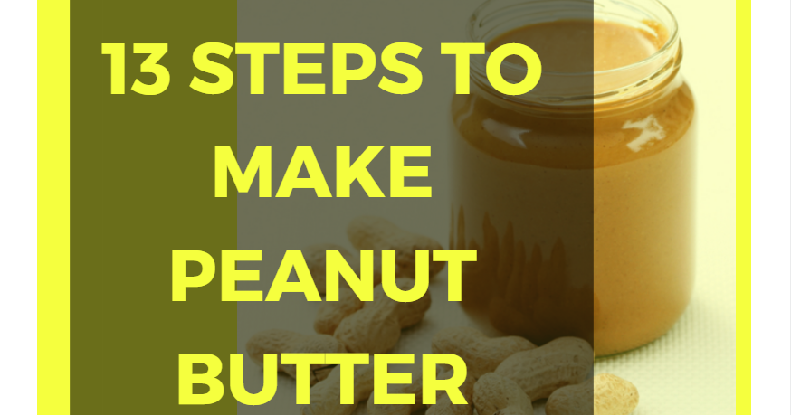 Serve it at home 13 steps to make your own peanut butter for Steps to building your own home
