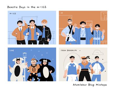 Beastie Boys m-ICS Tape | 2012 sind die Beasties in der Rock and Roll Hall of Fame