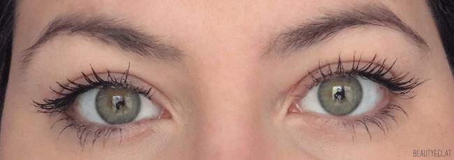 bourjois test mascara eye catching extreme volume