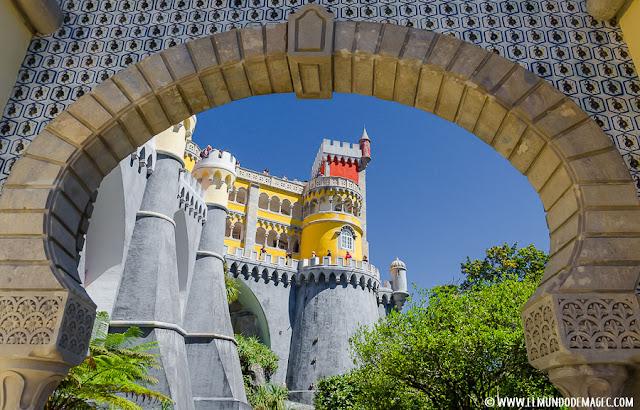 Qué ver en Sintra. Visita de un día. Mezcla de arquitectura