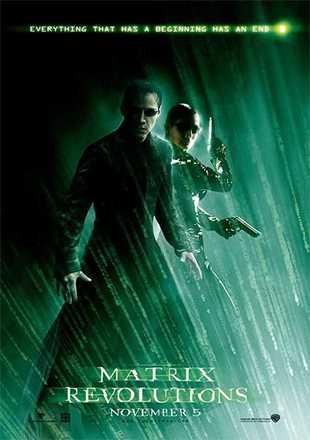 The Matrix Revolutions 2003 BRRip 720p Dual Audio ESub