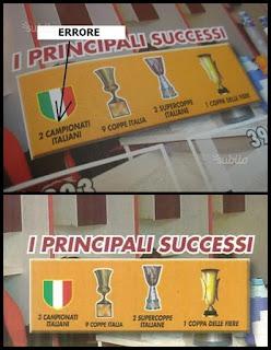 roma errore 2009/10 Calciatori panini